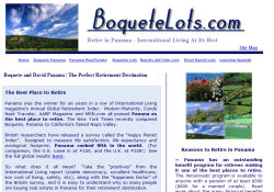 Boquete Lots - Retire to Panama site