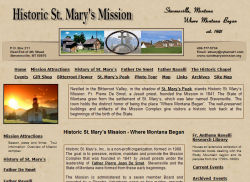 Historic St. Mary's Mission - Where Montana Began