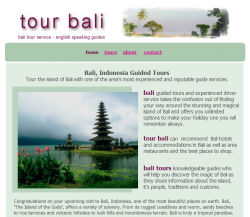 Tour of Bali - Guide and driver service in Bali, Indonesia