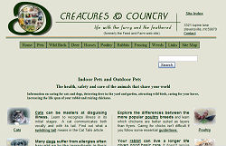 Creatures & Country - Indoor and Outdoor Pets